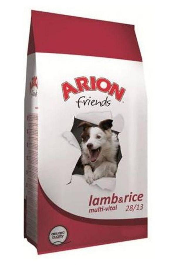 Arion friends lamb & rice multi-vital 28/13 15 kg