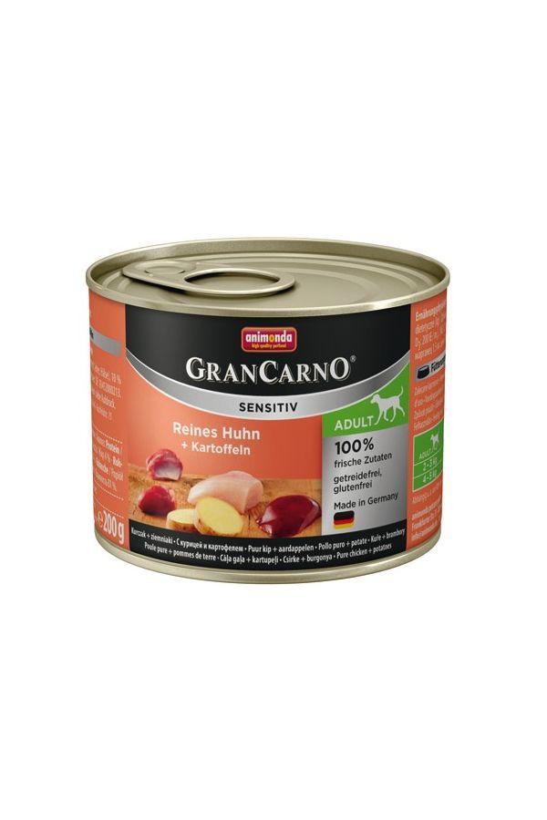 Animonda grancarno sensitiv adult kurczak z ziemniakami 200 g