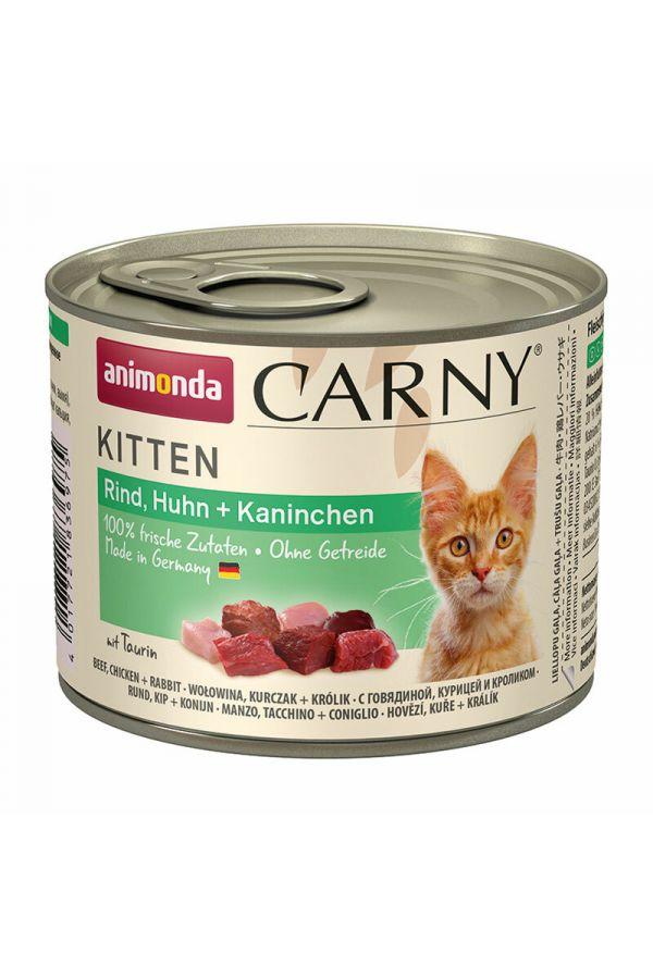 Animonda Carny Kurczak z Królikiem Kitten 200 g