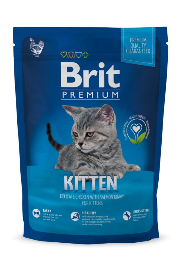 Brit Premium Kitten Kocięta Kurczak 1,5 kg