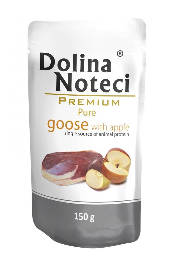 Dolina Noteci Premium Pure Gęś z Jabłkiem 150 g