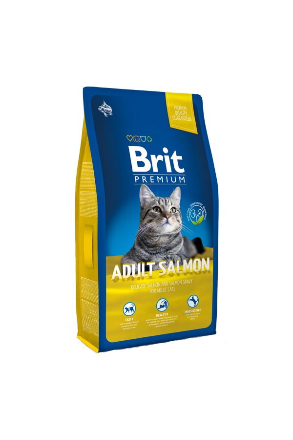 Brit Premium By Nature Salmon Łosoś Adult 1,5 kg
