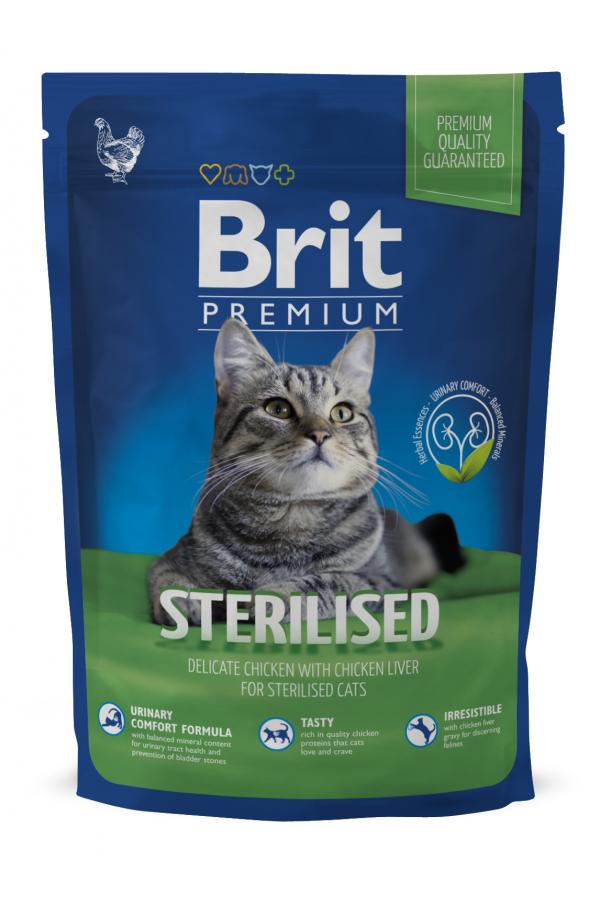 Brit Premium Sterilised Kurczak Wątróbka 1,5 kg