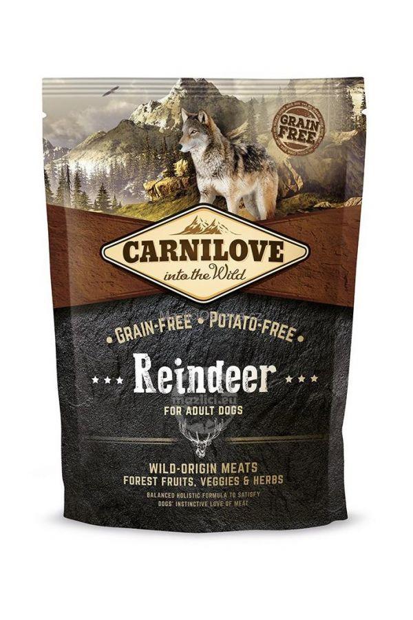 Brit Carnilove Reindeer Renifer Bezzbożowa Adult Dogs 1,5 kg