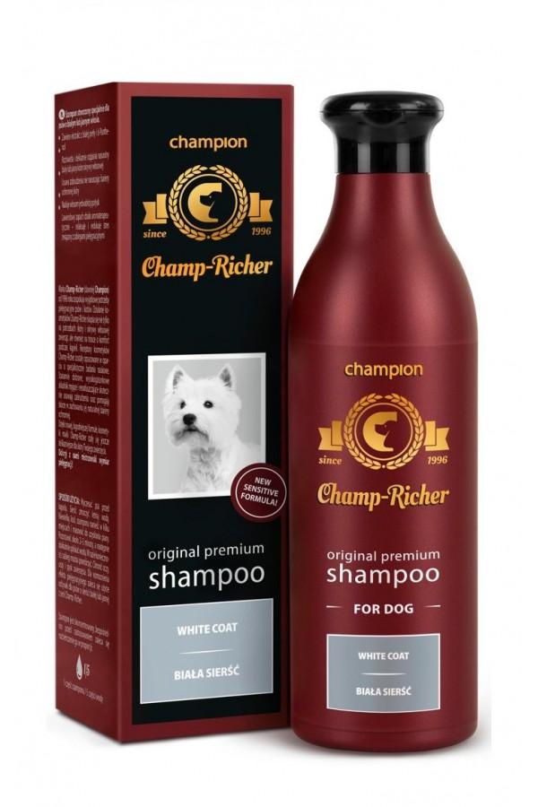 Champ - Richer Szampon do Białej Sierści 250 ml