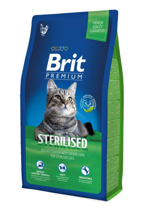 Brit premium sterilised 8 kg